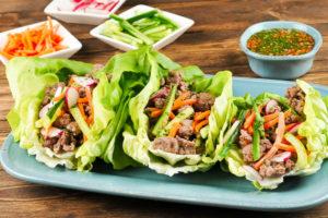 Banh Mi Lettuce Wraps