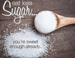 eat less sugar weight loss