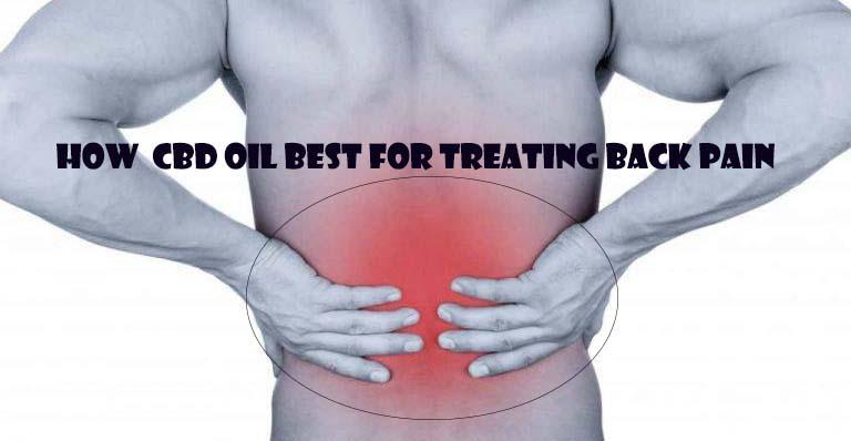 How CBD Oil Best for Treating Back Pain